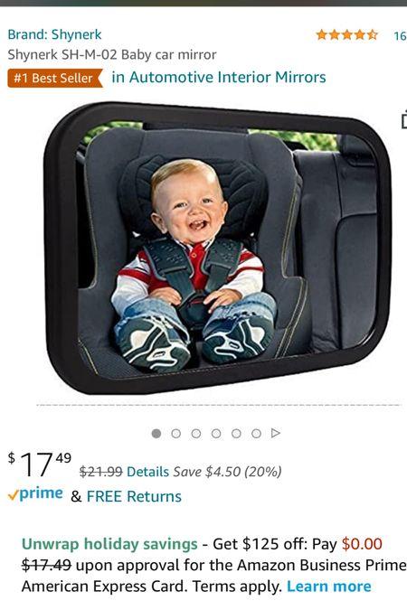 Baby mirror for car   #LTKbaby #LTKfamily #LTKkids