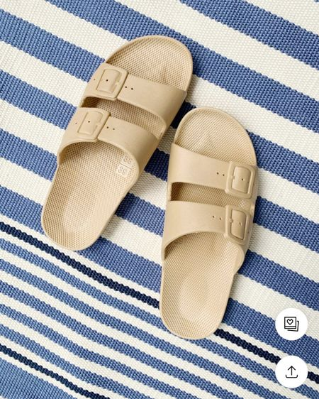A favorite pair of summer sandals! Perfect for the pool, beach or throwing on with a casual dress! @liketoknow.it #liketkit #LTKshoecrush http://liketk.it/3fyTV #LTKunder50