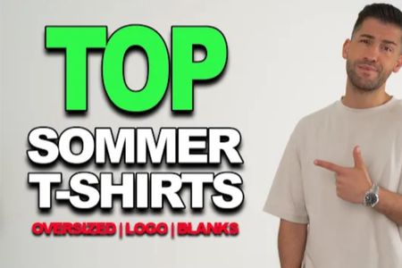 FRESHE SOMMER T-SHIRTS | Oversize, Logo, Blanks under / unter 100€   #LTKeurope #LTKunder100 #LTKstyletip