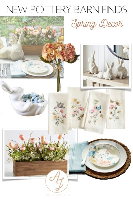 🌸 SPRING HAS SPRUNG! 🌸   Of course all of my favorite home retailers have released their new lines, and let me tell you they are all beautiful 🐰! Pottery Barn always has my favorite seasonal decor to last a lifetime. Something about their decor always feels like they will be passed down generation-by-generation. ⏰ TIMELESS ✨   What are your favorite spring pieces?    Download the LIKEtoKNOW.it shopping app to shop this pic via screenshot http://liketk.it/3b1Lf  #liketkit @liketoknow.it