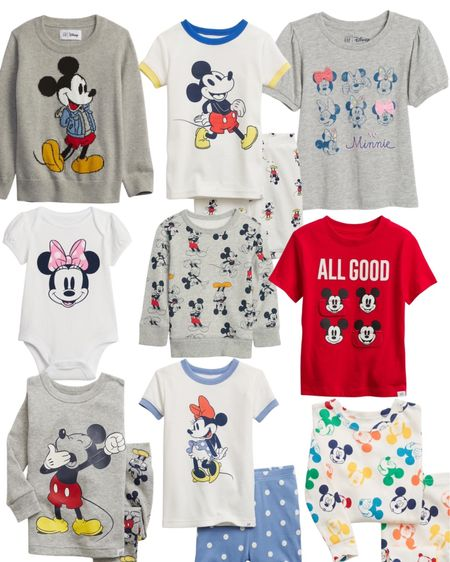 Minnie and Mickey always puts our family in a good mood. Spread some Disney cheer with these super cute shirts and PJs for your little one!   #LTKfamily #LTKkids #LTKbaby