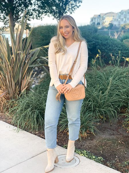 """My favorite jeans are on major Black Friday SALE ❤️ Madewell recently releases a curvy line and I am obsessed! It gives a couple extra inches in the booty and thighs without compromising the waist 😊️ And as if that wasn't enough, they come in petite for my short ladies 5'4"""" and under 🙌🏻 If you are like me and have a hard time finding the PERFECT fit, be sure to shop my @madewell favorites on my LIKEtoKNOW.it page. Shop your screenshot of this pic with the LIKEtoKNOW.it shopping app http://liketk.it/325TK #liketkit @liketoknow.it"""