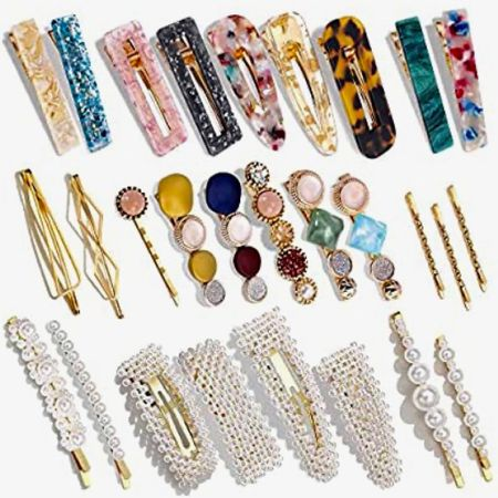 Amazon hair clips! 28 piece. Acrylic. Pearl. Rhinestones. Marble. Assorted. Only $14! #LTKgiftspo #StayHomeWithLTK #LTKbeauty #liketkit @liketoknow.it @liketoknow.it.home http://liketk.it/34ee8 Download the LIKEtoKNOW.it shopping app to shop this pic via screenshot