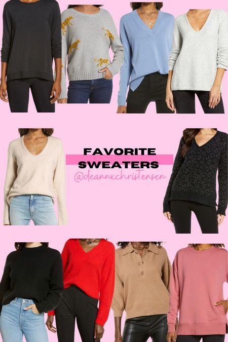 Favorite Sweaters 🎉 http://liketk.it/3jDw7 #liketkit @liketoknow.it #LTKsalealert #LTKunder50 #LTKunder100