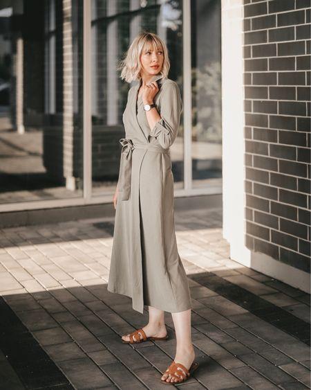 Maxi wrap dress street style  http://liketk.it/2Fy65 #liketkit @liketoknow.it #LTKeurope #LTKshoecrush #LTKstyletip #LTKworkwear