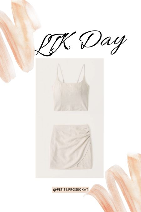 LTK day is here! 20% off at Abercrombie. This side is what we've all been waiting for love the neutral colors! Anything Lennon in the summer is perfect I can't wait to wear it all summer long!  You can instantly shop my looks by following me on the LIKEtoKNOW.it shopping app #liketkit @liketoknow.it http://liketk.it/3hkiH