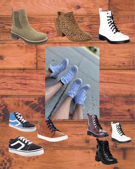 Perfect shoes for back to school and transitioning to the fall! Walmart finds! Boots, toddler shoes, and sneakers!  #LTKbacktoschool #LTKunder50 #LTKkids