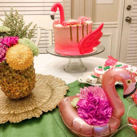 Flamingo party details http://liketk.it/3j4yD #liketkit @liketoknow.it #LTKhome #LTKunder50