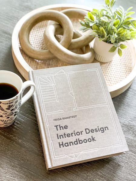 "Shop my coffee table book! ""The Interior Design Handbook""  #coffeetablebooks #interiordesign #design #books #hardcover #learnsomethingnew #designbook #homedecor #learnsomethingnew #tips&tricks #coffeetabkestyling  #LTKunder50 #LTKhome #LTKstyletip"