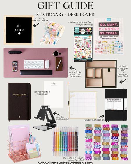 stationary gift ideas // desk gift ideas http://liketk.it/33U0z #liketkit @liketoknow.it #LTKgiftspo #LTKunder100 #LTKhome