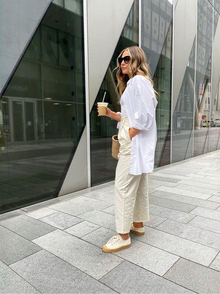 Beige from top to toe 🥐 Shop my full look below 👇🏼  Do you prefer a neutral or colourful look? ✨  #LTKfit #LTKSeasonal #LTKunder50