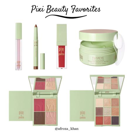 These are my must-haves from Pixi Beauty. The blush, bronzer and highlighter palette is everything! I love stocking up on these from Target. My trick for Target shopping is to always buy them online and then picking them up from the local Target. Saves so much time and sometimes online deals are much better! #liketkit #LTKunder50 #LTKbeauty http://liketk.it/2WQ8I @liketoknow.it