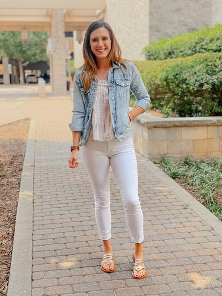 """One thing I've learned over the years of shopping deals is to learn the sales of a retailer. I used to be hesitant to shop at places that I thought were """"too expensive"""", until I learned which ones had the sales that made up for their price point. I LOVE Loft, but as a teacher I typically can't afford a $60 top 🤷🏻♀️ but I still continue to shop there bc their 40%, 50%, and even 70% sales make everything SO much more affordable- better than Target ladies 😉 I recently snagged a ton of new clothes for a major steal- this top being one! Originally $50- on purchased for EIGHT! Best part? They're doing the sale again today! I linked a few favorites all priced around $10, head over to the link in my bio to shop this look and some major sale favorites 🥰  #LTKunder50 #LTKSale #LTKworkwear"""