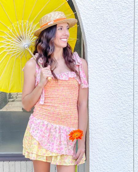 Smocked summer dresses +espadrille wedges + straw hats http://liketk.it/3cMI0 #liketkit #LTKshoecrush #LTKstyletip #LTKunder50 @liketoknow.it