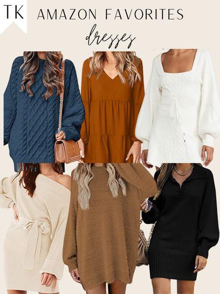 amazon dresses / amazon sweater dresses / amazon find / amazon finds   #LTKHoliday #LTKSeasonal #LTKunder50
