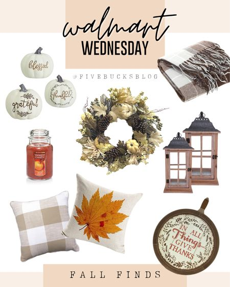 Happy Walmart Wednesday! I'm brand new to @liketoknow.it so I wanted to come here and play around to see how it works! 🥴🤣 Love learning new things! - These are some of my favorite Fall finds at @walmart for under $20! #StayHomeWithLTK #LTKfamily #LTKfall #LTKautumn #LTKunder20 #falldecor #fallfarmhouse  http://liketk.it/2WaXk #liketkit