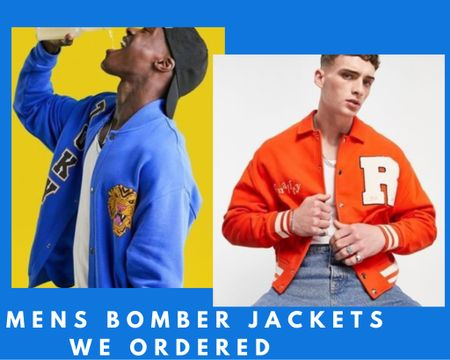 Mens bomber jackets we ordered in Size Large and we are totally obsessed by this trend 💥  unisex style it is.  #LTKeurope #LTKunder50 #LTKmens