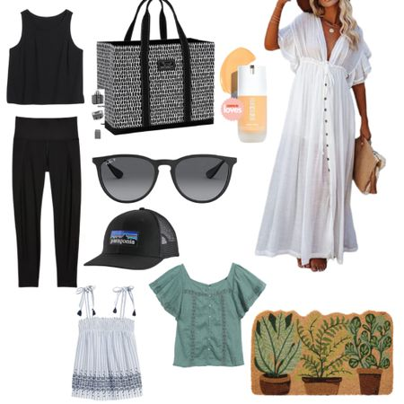 This week's Best Sellers  Athleisure : Fitness : Tote : Beach Vacation : Swim : Coverup :  Summer Dress : Travel : Target Style : Old Navy Style : Amazon Finds : Sunnies : Sunglasses : Home Decor : Beach Vacation Outfits : Patio : Hat : Beach Bag : Beauty   #LTKfit #LTKswim #LTKsalealert