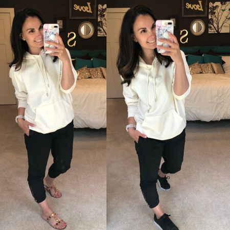 Just received my first pair of Zyia Active joggers and I'm in love! Today I'm wearing them with a comfy hoodie and sneakers for a walk I'm going on but for real so cute and comfy! http://liketk.it/2OMvJ #liketkit @liketoknow.it #LTKfit Follow me on the LIKEtoKNOW.it shopping app to get the product details for this look and others