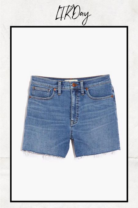 A great pair of summer shorts from my favorite brand for denim shorts!  #LTKunder50 #LTKSeasonal #LTKsalealert
