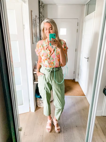 Outfits of the week-Wednesday   My favorite blouse this summer! Light and airy with the cutest print. All items fit tts-oversized.     #LTKsalealert #LTKstyletip #LTKeurope