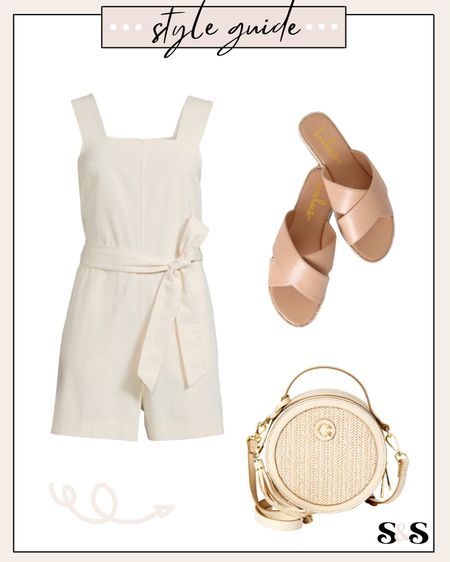 Summer outfit inspo! All super affordable & everything comes in more colors too🙌 #walmart #walmartfinds #beachbag #beachvacation #sandals #romper #summeroutfits #summerfashion #vacationoutfits   #LTKSeasonal #LTKstyletip #LTKshoecrush