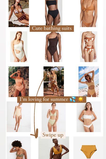 Cute bathing suits I'm loving for summer ☀️ http://liketk.it/3eD34 #liketkit @liketoknow.it