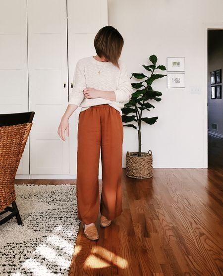 Pants (Only Child), shoes and sweater linked. http://liketk.it/2MHuI @liketoknow.it #liketkit