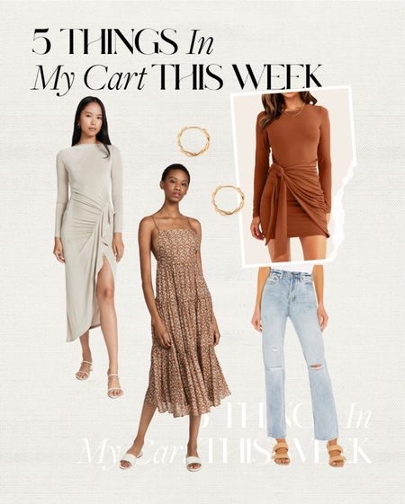 in my cart 🤍 #jeans #dress #fallfashion