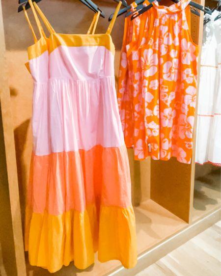 Color block midi dress. Summer maxi dress. White dress. Tiered ruffle dress.  @liketoknow.it http://liketk.it/3iMW7 #liketkit