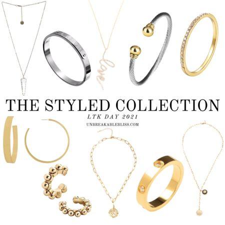 Cutest accessories from The Styled Collection! Part of LTK Day! @liketoknow.it #liketkit #LTKDay #LTKsalealert #LTKworkwear http://liketk.it/3hcff