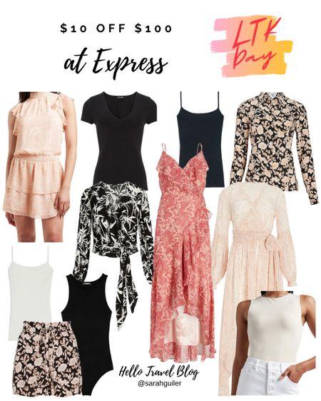 Express sale. Summer fashion. Beach vacation. Body contour. @liketoknow.it http://liketk.it/3hkYd #liketkit #LTKDay #LTKtravel #LTKunder100