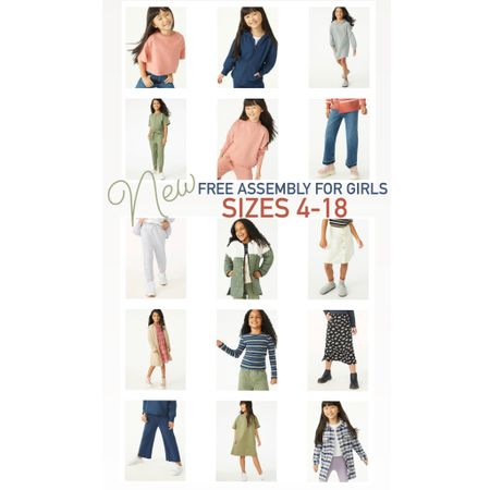 New for girls - sizes 4-18!   #LTKkids #LTKbacktoschool #LTKunder50