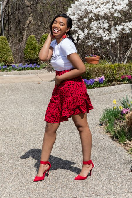 Ruffled skirts for Summer ♥️   #LTKunder50 #LTKstyletip #LTKSeasonal