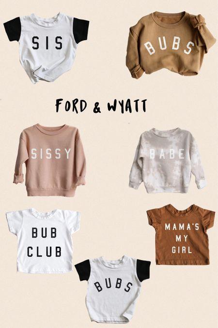 Ford & Wyatt! My favorite shirts to buy for my boys!  #LTKstyletip #LTKunder50 #LTKkids