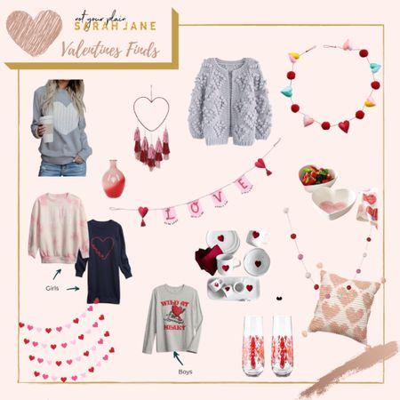 Valentines Decorations for home. Affordable Valentines decor, Target, woman's heart sweater, valentines sweater    #LTKunder50 #LTKhome #LTKkids