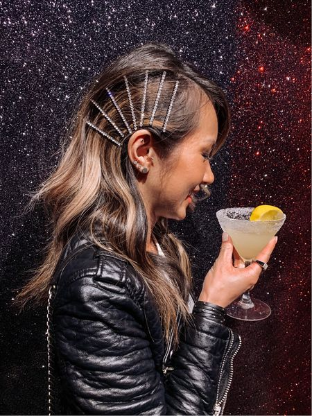 Finish your day sparkling ✨🍸 #thirstytuesday #cheers #thestylizt  . . . . . #hairpins #hairgoals #hairgoals😘 #hairclips #hairtips #hairbeauty #hairart #hairinspo #hairideas #hairstyleideas #hairstyleoftheday #hairstyled #kitsch #mykitsch #cocktailparty #cocktailhour #cocktailgram #cocktailstyle #stylediary #mystyle #thestylizt   #LTKstyletip #LTKbeauty #LTKunder50