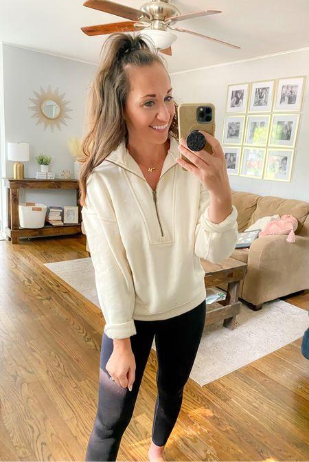 Target finds, quarter zip sweatshirt, Target style  Wearing size xs - $25  #LTKsalealert #LTKstyletip #LTKunder50