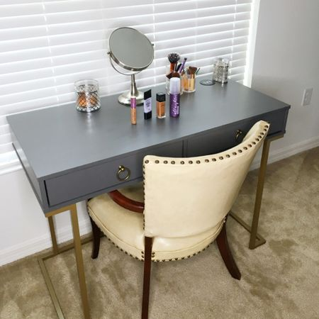I love the desk I bought from Wayfair to use as my makeup table. And that desk is on sale along with several other items during the Wayfair Way Day Sale!  http://liketk.it/31y7g #liketkit @liketoknow.it   #LTKsalealert #LTKhome