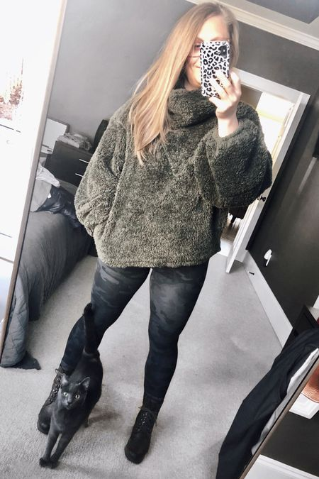 Can't stop won't stop wearing this fluffy Sherpa pullover and camo everything in 2020  http://liketk.it/2IGx5 #liketkit @liketoknow.it #LTKtravel #LTKunder50 #LTKunder100 #lululemon #camo #sherpa