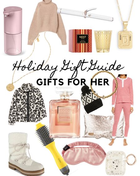 HOLIDAY GIFT GUIDE FOR HER  http://liketk.it/31iIB @liketoknow.it #liketkit #LTKstyletip #giftsforher #giftguide #holidaygiftguide