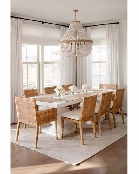 Dining room, dining table, dining chairs, chandelier http://liketk.it/3bgf1 #liketkit @liketoknow.it