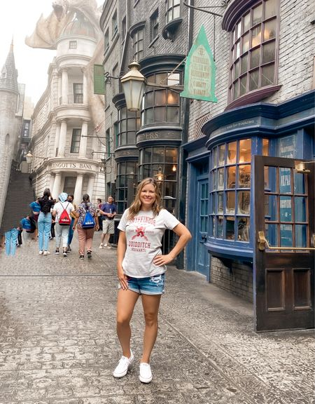 Happy Birthday Harry Potter! There's so many fun Harry Potter shirts to wear to celebrate the big day. Cheers! Wish I was sipping on a butter beer from The Wizarding World of Harry Potter to celebrate! #HarryPotter   #LTKtravel #LTKunder50 #LTKunder100