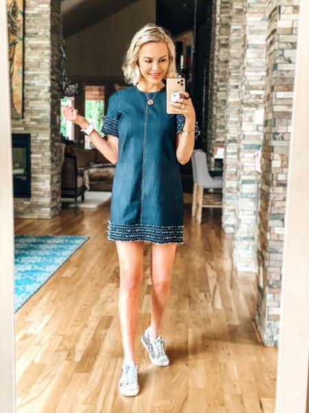My easy summer uniform will consist of 2 items:  casual, loose fitting dresses + sneakers.  // bonus: easy to hide the Covid fluff. 😬 👗 @cinqasept   #liketkit @liketoknow.it http://liketk.it/2P1Zq #LTKsalealert #LTKshoecrush #LTKstyletip