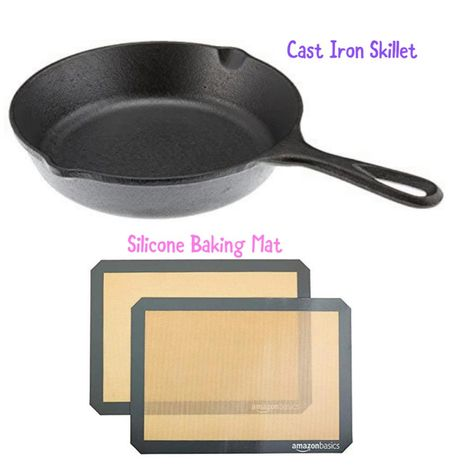 Amazon finds. Amazon home finds. Cask iron skillet. Kitchen appliances. Under 50.   #StayHomeWithLTK #LTKunder50 #LTKhome