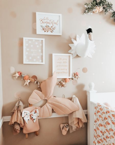 Girls Bedroom. Girls Nursery Decor. Wall Decor. Prints. Decals and decor ideas. Under $50!  Some of my favourite Little Girls Room Decor that I am shopping now!  xo friends. Thanks for shoppjng with me ✨    #LTKbaby #LTKhome #LTKkids