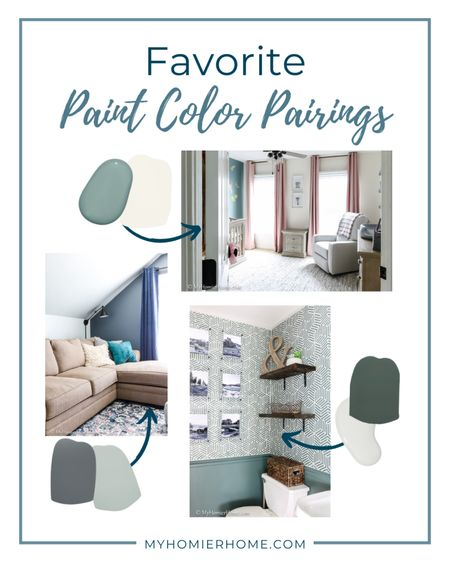 My top 3 paint color pairings to take any room to the next level!   #LTKhome #LTKunder100