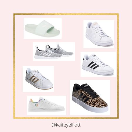 Nordstrom rack had the best shoes for spring!! Here are some of the adidas shoes. Shop your screenshot of this pic with the LIKEtoKNOW.it shopping app @liketoknow.it #liketkit http://liketk.it/3ccak #LTKunder100 #LTKcurves #LTKshoecrush