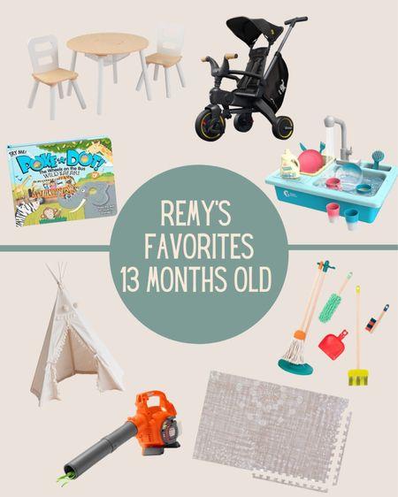 Remy's Favorites - 13 months old 💫   #LTKbaby #LTKunder50 #LTKkids