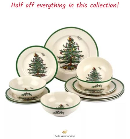 The best price you will see all year on Spode Christmas wares! This sale is amazing!!  #LTKsalealert #LTKGiftGuide #LTKHoliday